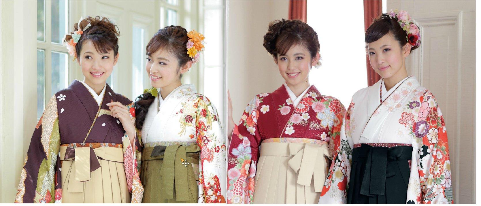 卒業式の袴着付け受付中||ヘナで人気の綾瀬の美容室PRIDE.RIDSE(プライドライズ)